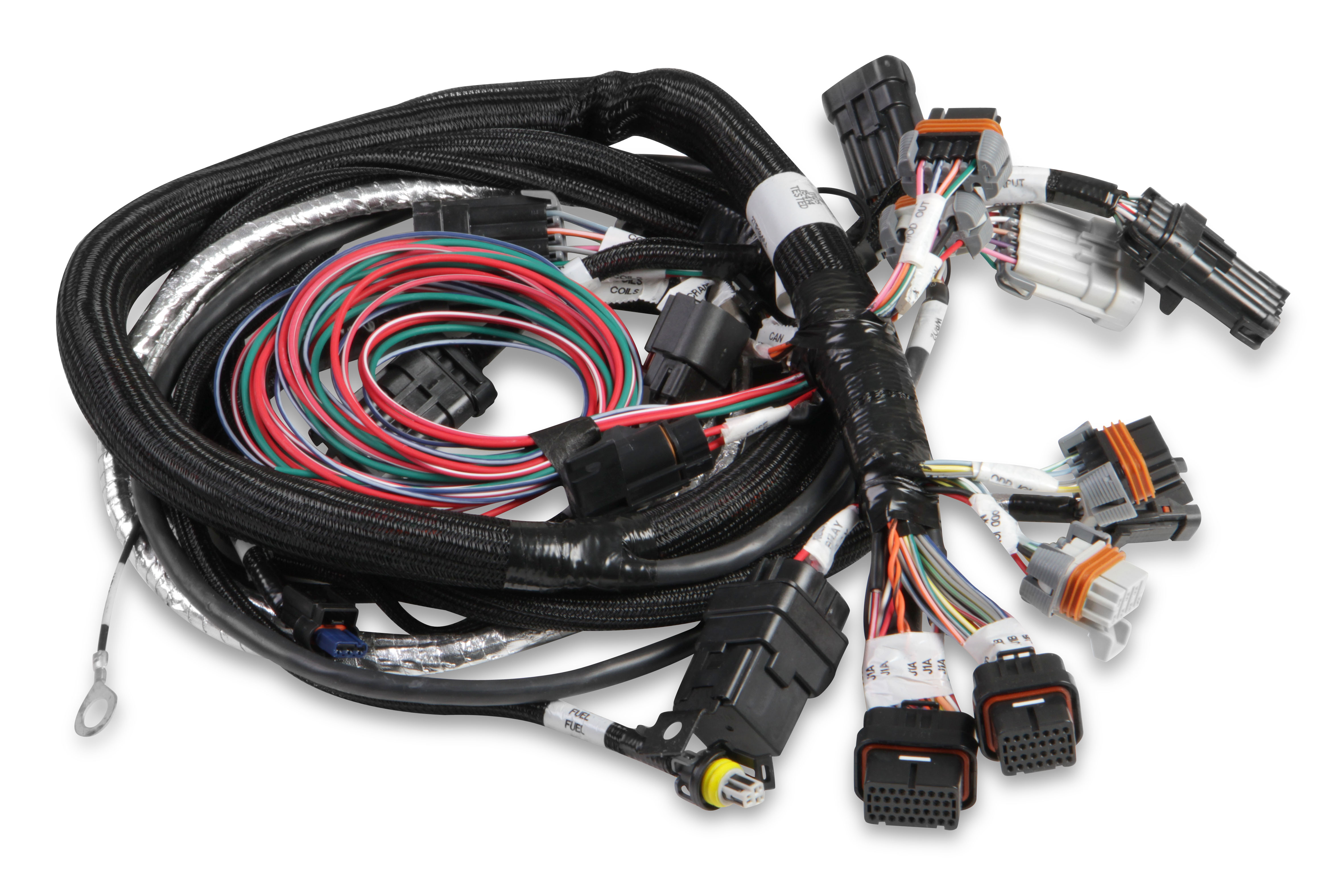Holley GEN III HEMI MAIN HARNESS , LATE, W/TPS AND IDLE AIR CONTROL on