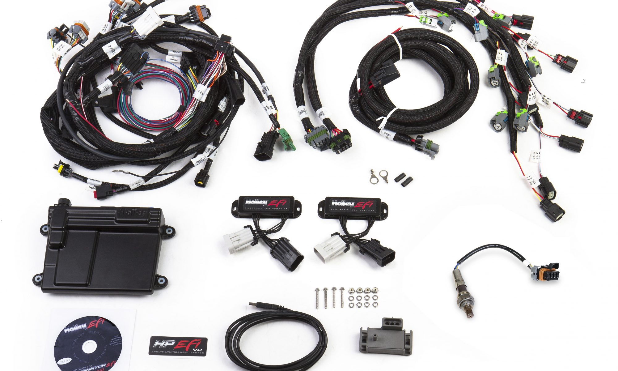 home / shop / wiring harness / holley 2011-present ford coyote engine hp  efi ecu & harness kits